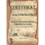 urszula kuczynska certyfikat dentysta 13_2