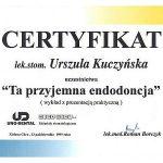 urszula kuczynska certyfikat dentysta 17_2