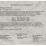 urszula kuczynska certyfikat dentysta 1