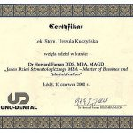 urszula kuczynska certyfikat dentysta 22_2