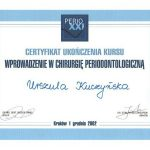 urszula kuczynska certyfikat dentysta 34_2