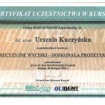 urszula kuczynska certyfikat dentysta 36_2