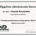 urszula kuczynska certyfikat dentysta 40_2