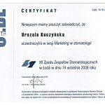 urszula kuczynska certyfikat dentysta 48_2
