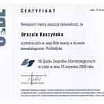 urszula kuczynska certyfikat dentysta 49_2