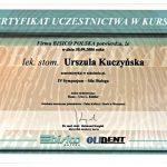 urszula kuczynska certyfikat dentysta 50_2