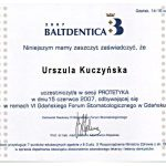 urszula kuczynska certyfikat dentysta 59_2