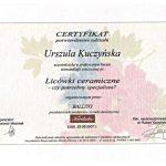 urszula kuczynska certyfikat dentysta 61_2