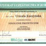 urszula kuczynska certyfikat dentysta 71_2