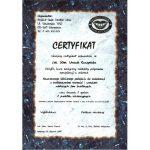 urszula kuczynska certyfikat dentysta75_2