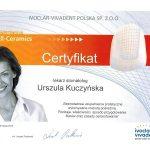 urszula kuczynska dentysta Certyfikat 18