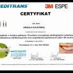 urszula kuczynska dentysta Certyfikat 21