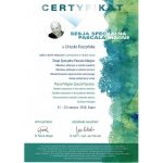urszula kuczynska dentysta Certyfikat 25