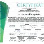 Certyfikat U-K Endodoncja