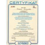 Certyfikat U-K Funkcje i dysfunkcje narzadu zucia
