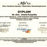 Certyfikat U-K Licówki kompozytowe