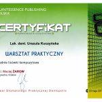 Certyfikat U-K licówki