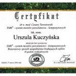 Certyfikat U-K system mostów