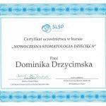 certyfikat dentysta drzycert 5