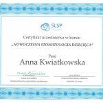 certyfikat dentysta kwiatrep 1