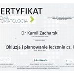 zacharski certyfikat dentysta zachcert 11