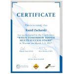 zacharski certyfikat dentysta zachcert 8