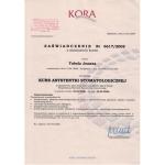 certyfikat dentysta zielcert 14