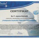 certyfikat dentysta zielcert 4