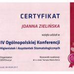 certyfikat dentysta zielcert 5