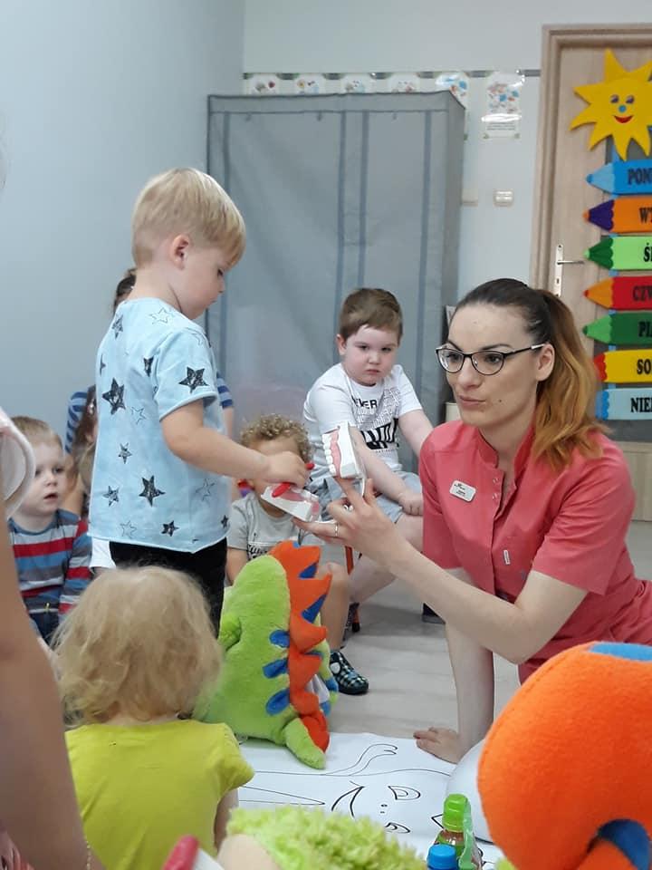 Dentystyczny kącik dla dzieci