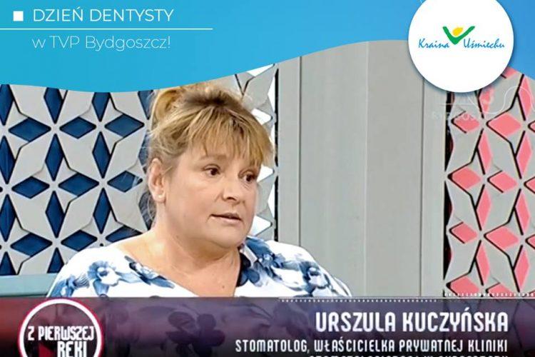 Dzień dentysty w TVP Bydgoszcz