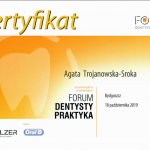 Certyfikat Agata Trojanowska Sroka nr 7898