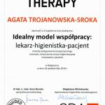 Certyfikat Agata Trojanowska Sroka nr 78981